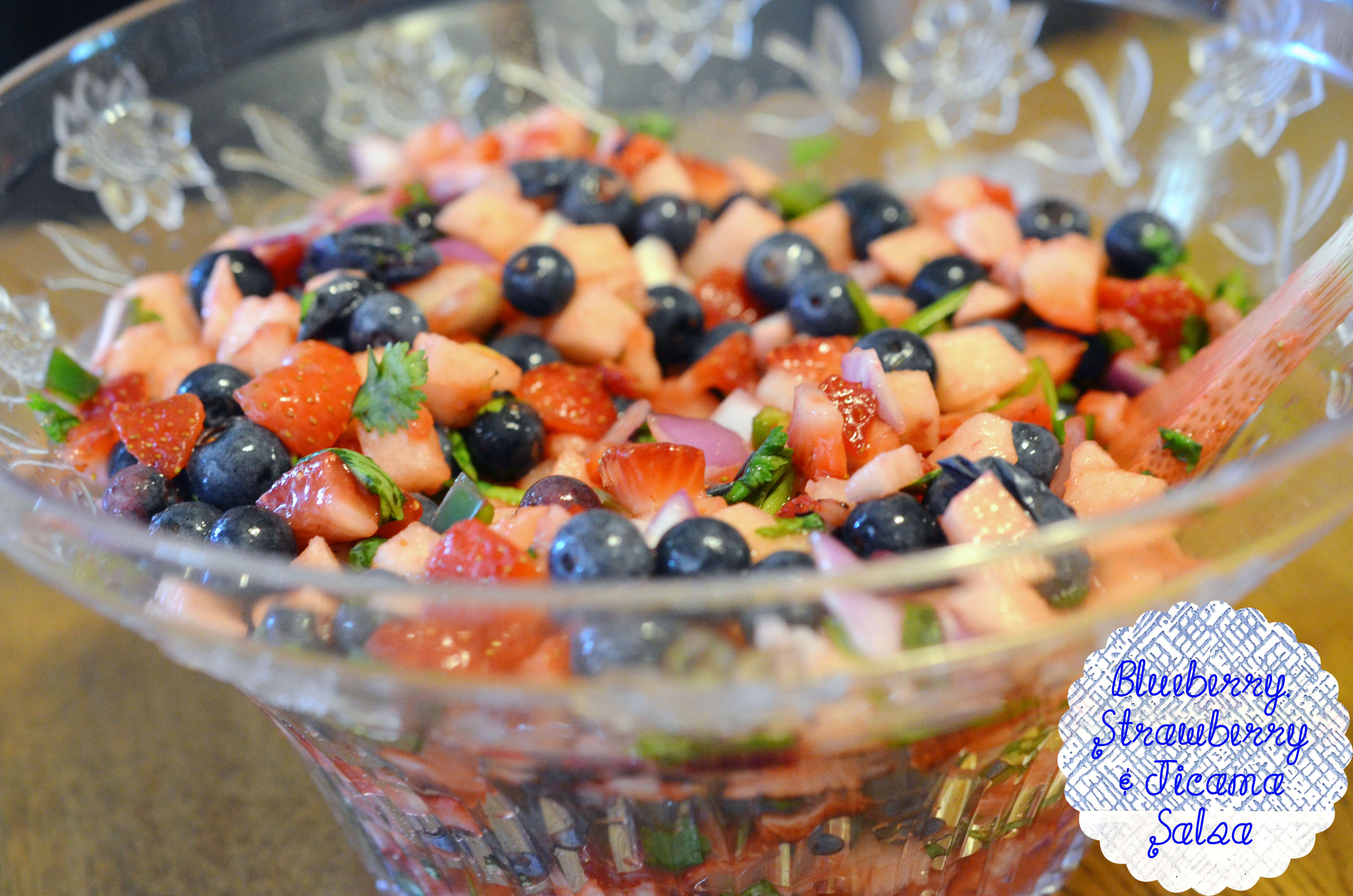 ... salsa strawberry blueberry tart blueberry strawberry jicama salsa